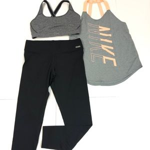 Sporty Outfit featuring VS Pink Yoga & Nike